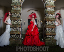 Missenden Abbey Winter Wedding Photoshoot