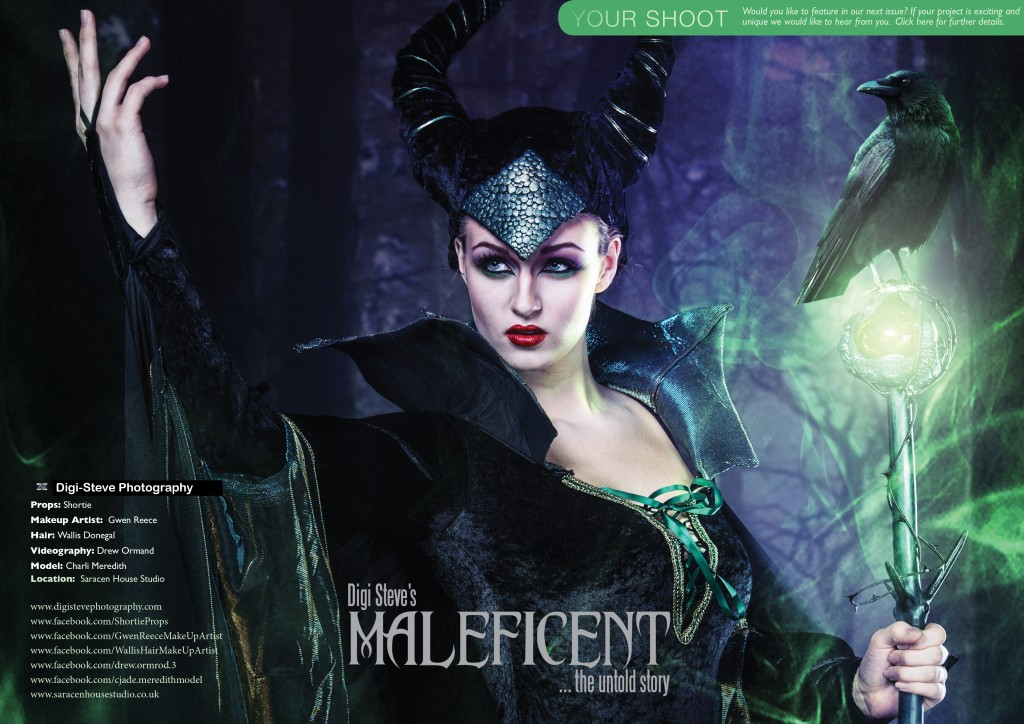 MALEFICENT PHOTOSHOOT