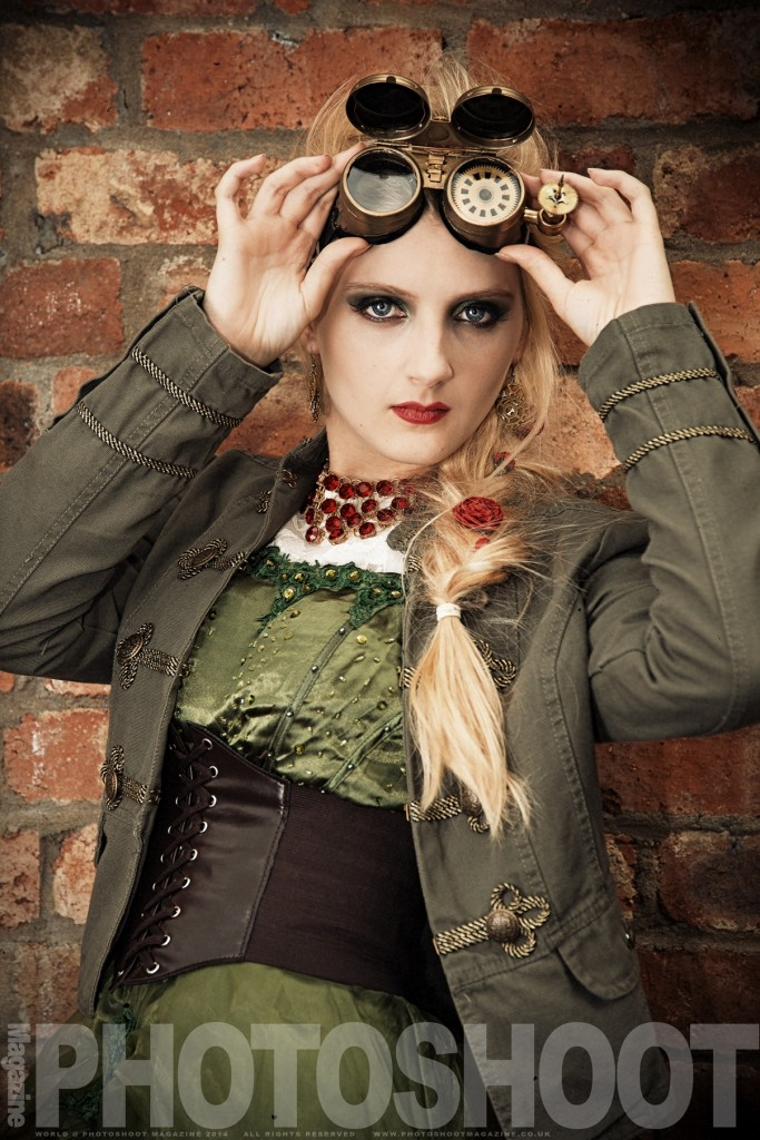 Steampunk Photoshoot - Sophie