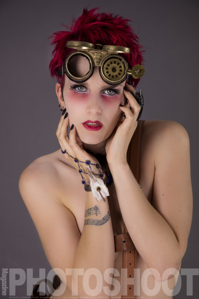 Steampunk Photoshoot - Nic Button