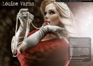 PUBLISH YOUR MODELLING PORTFOLIO WITH PHOTOSHOOT MAGAZINE - LOUISE VARNS WITH DOLL HOUSE PHOTOGRAPHY
