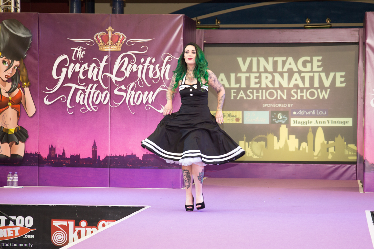 Eden Anastacia at The Great British Tattoo Show 2015