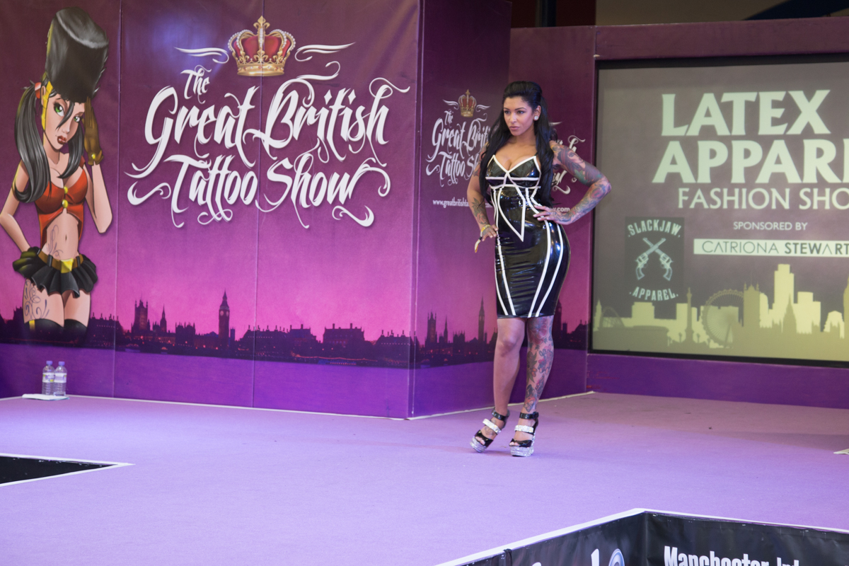 Courtney Kelly-Deeks at The Great British Tattoo Show 2015