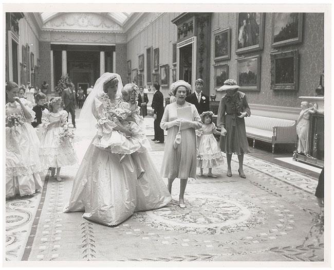 Behind-the-Scenes Royal Wedding Princess Diana - Elizabeth Emmanuel