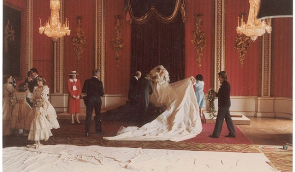 Behind-the-Scenes Royal Wedding Princess Diana - Elizabeth Emmanuel