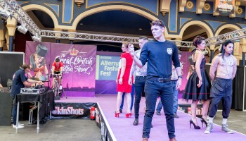 Catwalk Show at The Great British Tattoo Show 2016
