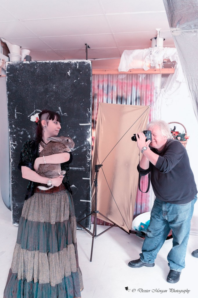 Keira-&-Phil - Scales and Tails photo-shoot - Animals from Wierd and Wonderful at Bodyline Studio