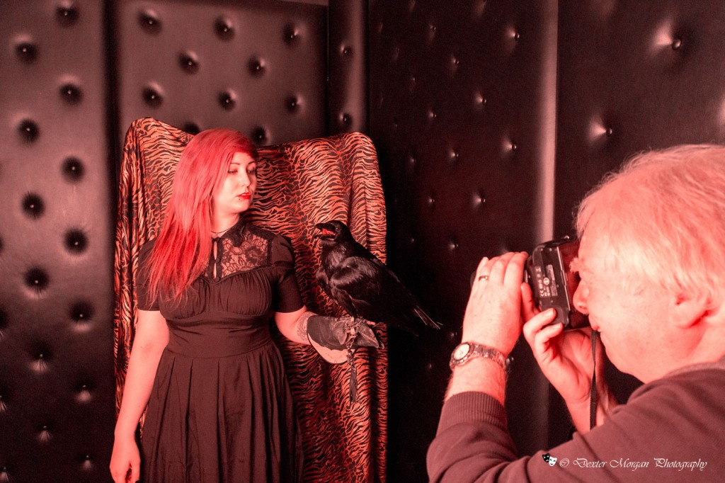 Sharny-&-Phil  - Scales and Tails photo-shoot - Animals from Wierd and Wonderful at Bodyline Studio