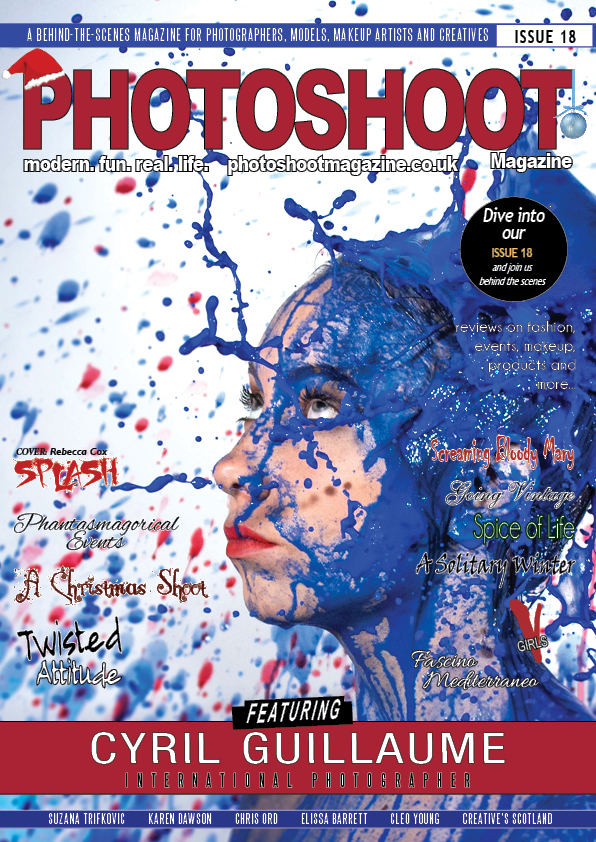 How do I get my image published on a front cover Magazine. Creative magazine