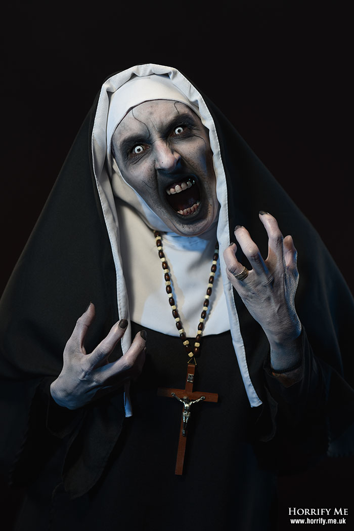 Valak – A Demonic Nun – The Conjuring 2 by Horrify Me – Behind the Scenes