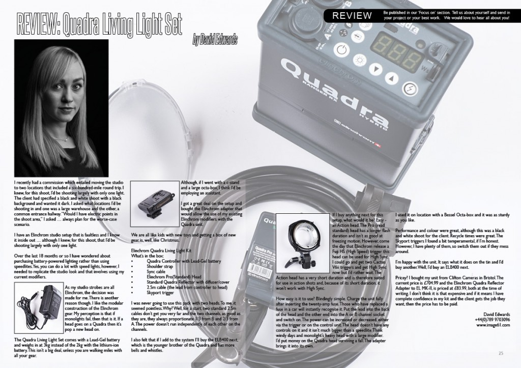 REVIEW: Quadra Living Light Set