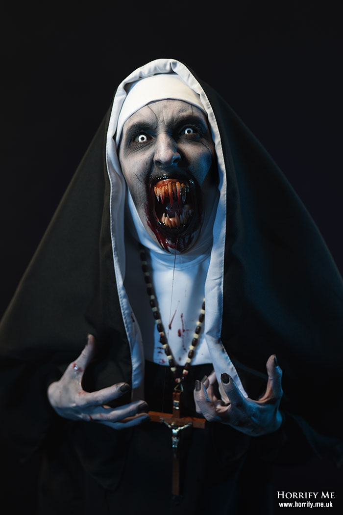 Valak - The Demon Nun - The Conjuring 2 - by HORRIFY ME