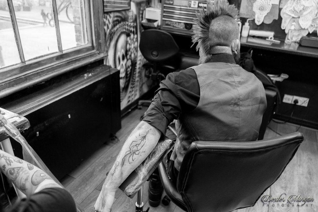 Kay Eliza Tattooist at Brutal Truth Tattoo Club
