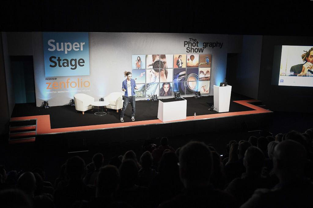 Super Stage at the Photography Show