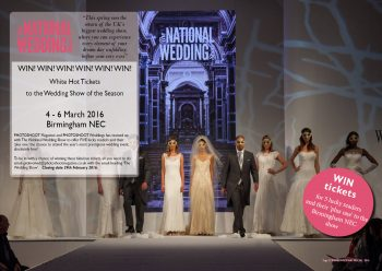 PHOTOSHOOT WEDDINGS SPECIAL_THE NATIONAL WEDDING SHOW