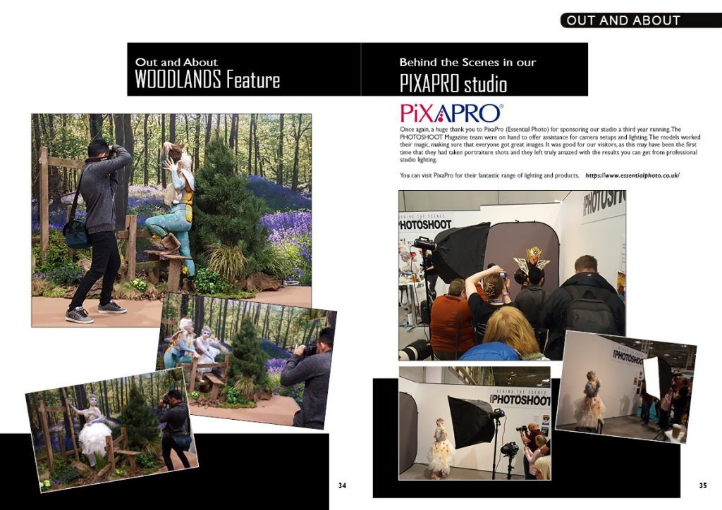 Behind the scenes at The Photography Show 2018 with PixaPro