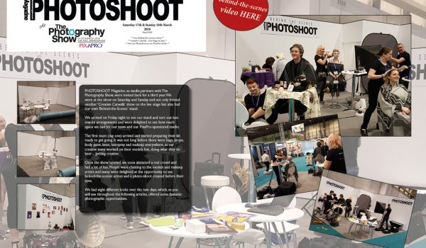 PHOTOSHOOT Magazine at THE PHOTOGRAPY SHOW 2018