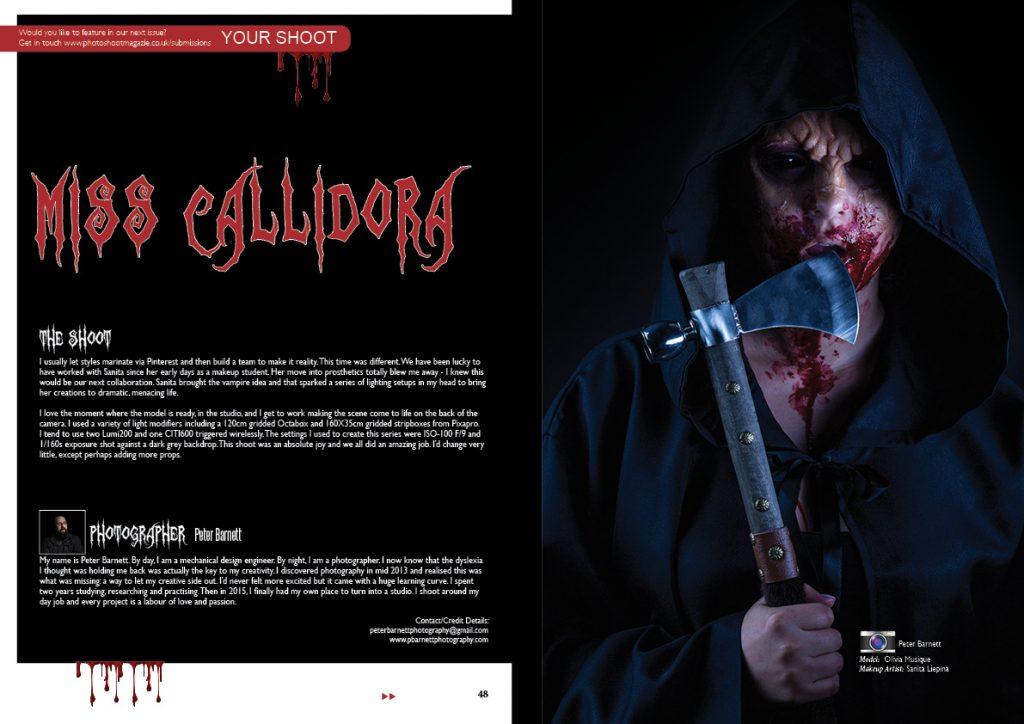 Miss Callidora - SFX Vampire