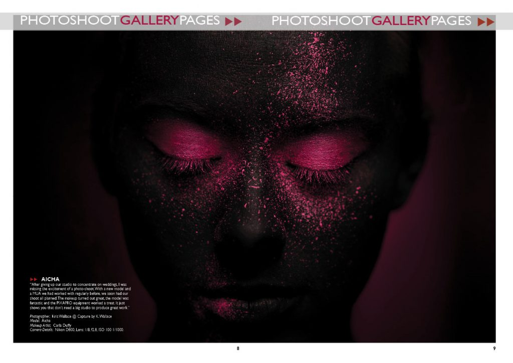 Get published in a photography magazine