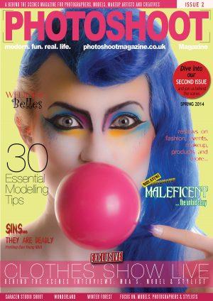 PHOTOSHOOT Magazine Issue 2 - Behind the scenes photography magazine