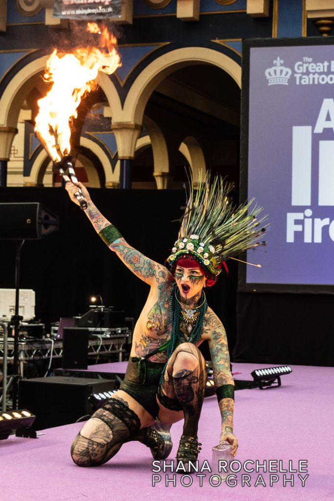 The Great British Tattoo Show 2018 - Aima Indigo