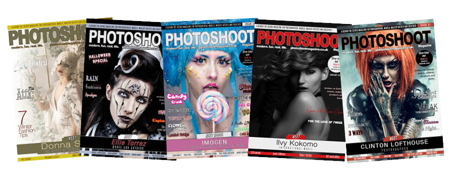 How do I get my image published on a front cover of PHOTOSHOOT Magazine?