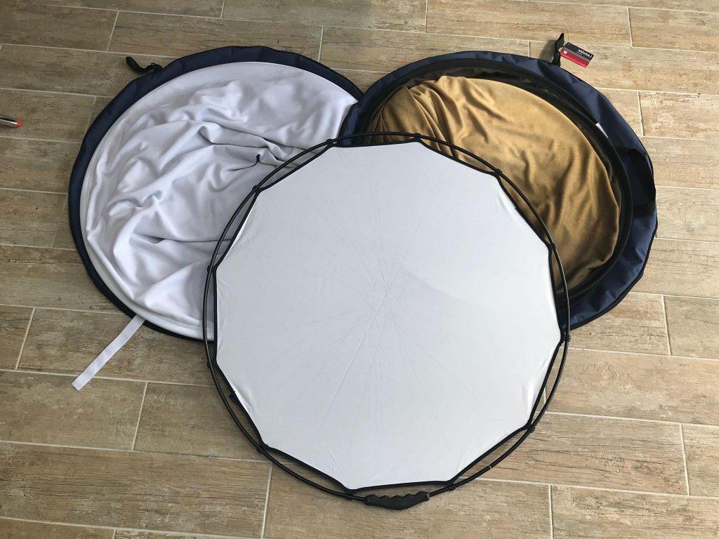 Lastolite Halo Compact Reflector Diffuser Gold SIlver White