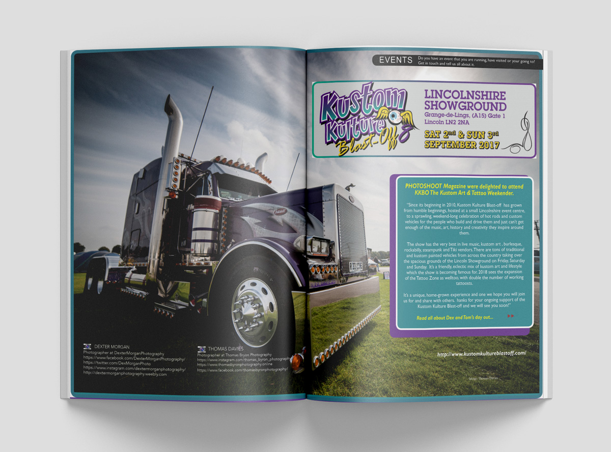 KKBO DOUBLE PAGE MAGAZINE SPREAD
