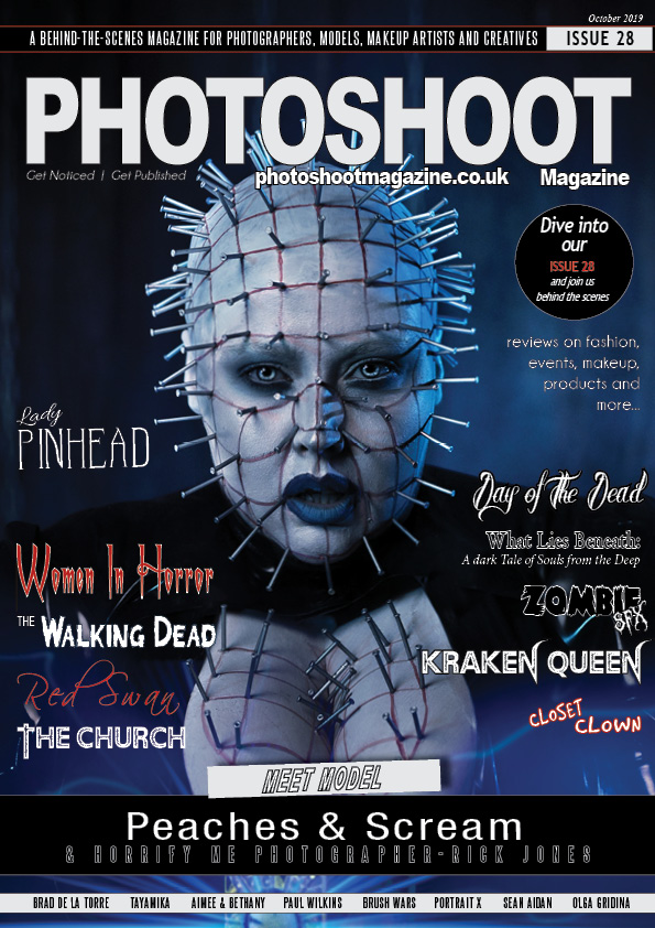 ISSUE 28_PEACHES AND SCREAM_LADY PINHEAD_HORRIFY ME
