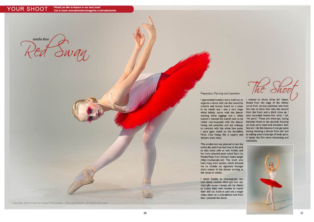 Amelia Ballet Dancer_Red Swan Article